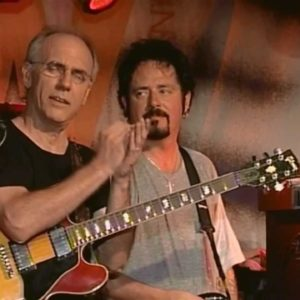 Steve Lukather with Mr.335 Larry Carlton